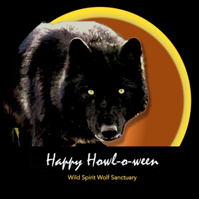 Sticker Large Howl-oween