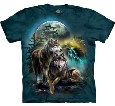 T Shirt Wolf Lookout