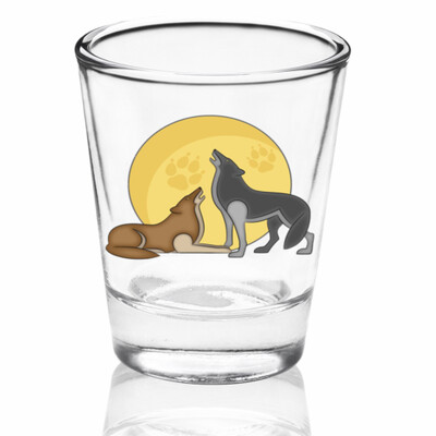 Wild Spirit Shot Glass