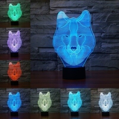 Wolf LED Light