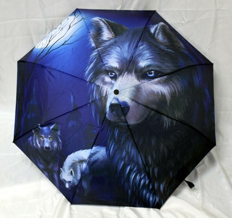 Wolf Umbrella