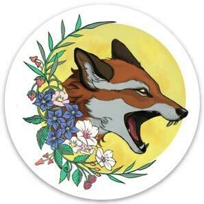 Sticker - Vixen Scream