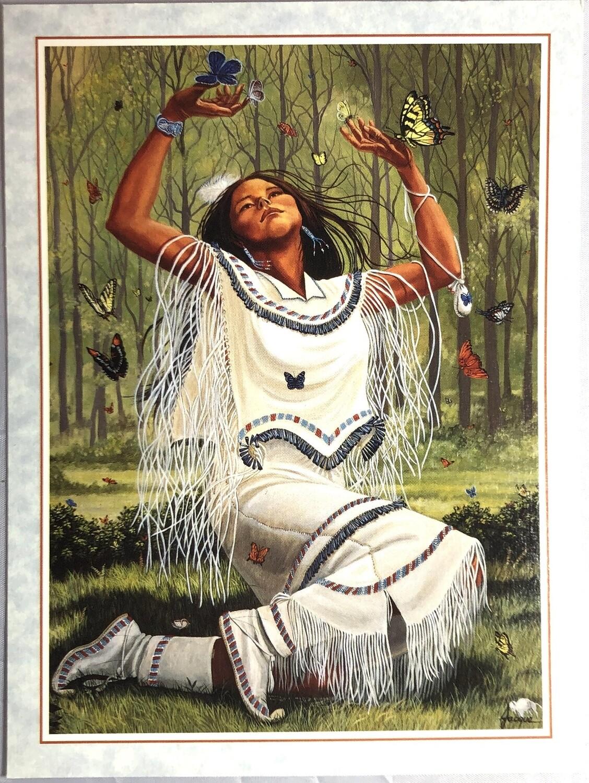 Folded Cards-Sacred Messenger