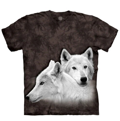 T Shirt Wolf Siblings