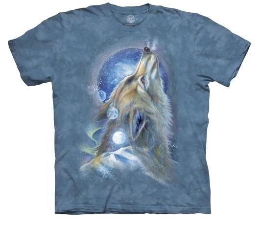 T Shirt Wolf Howl
