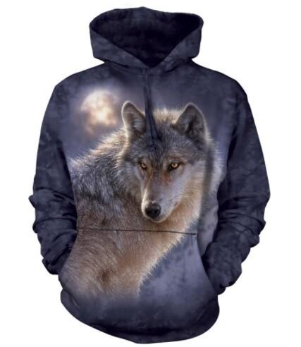Adventure Wolf Unisex Hoodie
