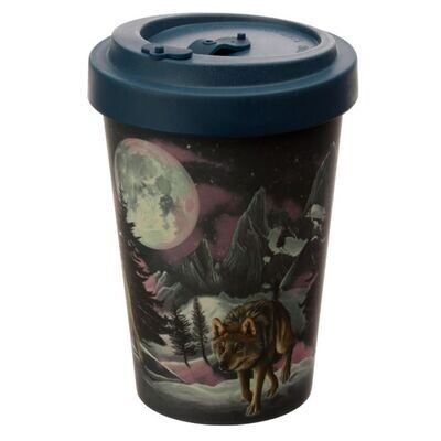 Wolf Bamboo Travel Cup