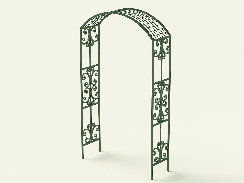 Каталог эскизов садовых арок