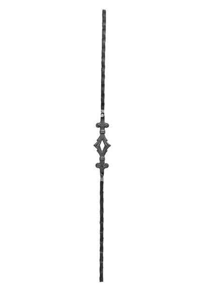 Балясина 900 мм с одной вставкой сеч. 12*12 мм, арт. Б111-1