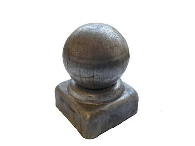 Крышка с шаром на трубу 25*25 мм