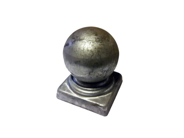 Крышка с шаром на трубу 40*40 мм
