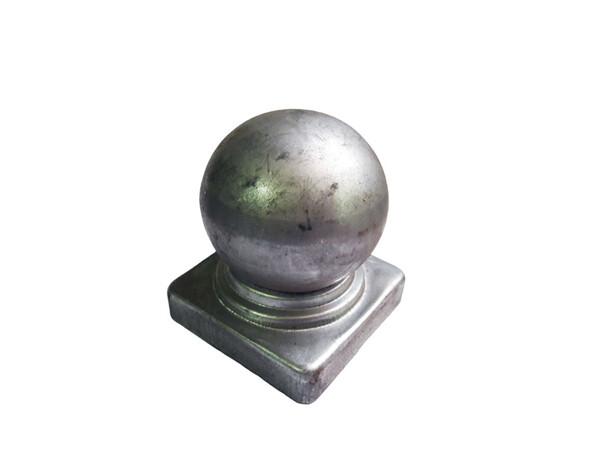 Крышка с шаром на трубу 50*50 мм