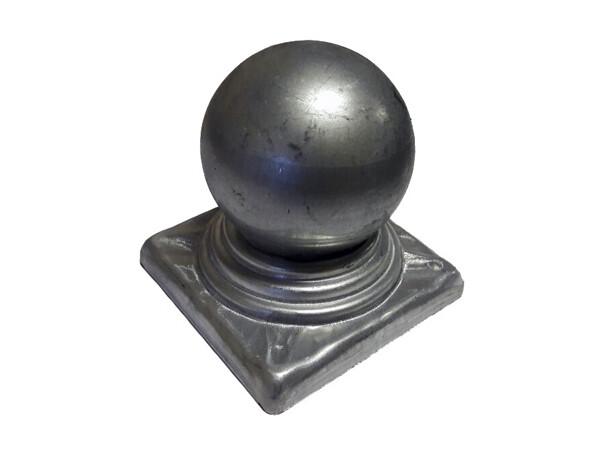 Крышка с шаром на трубу 100*100 мм