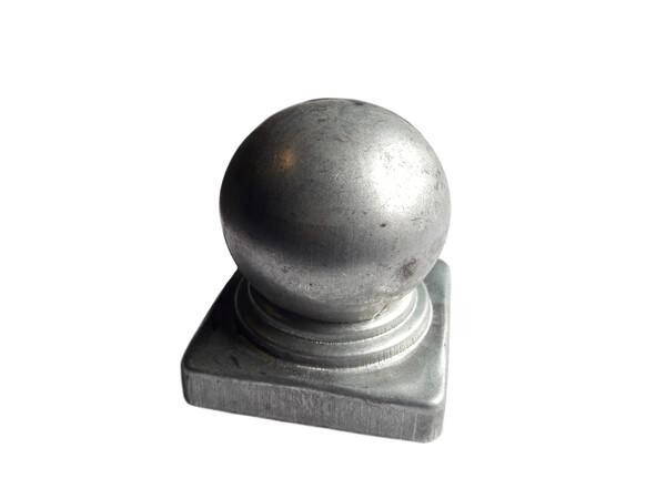 Крышка с шаром на трубу 60*60 мм