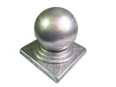Крышка с шаром на трубу 120*120 мм