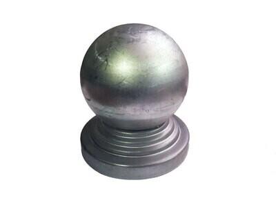 Крышка с шаром на трубу диам. 114 мм