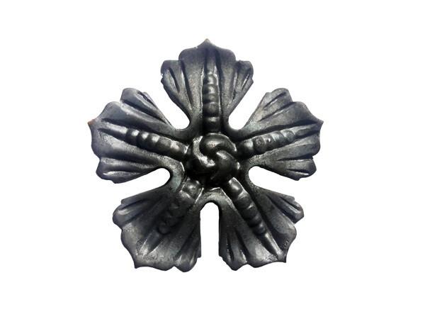 Цветок кованый 80*3 мм