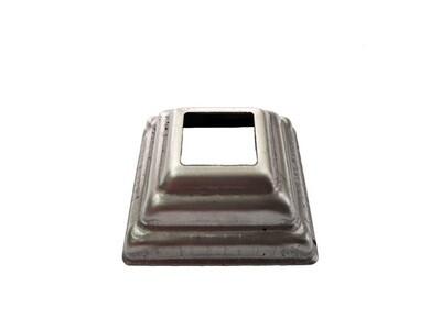 Основание штамп. 44*44*1 мм отв. 15,5*15,5 мм