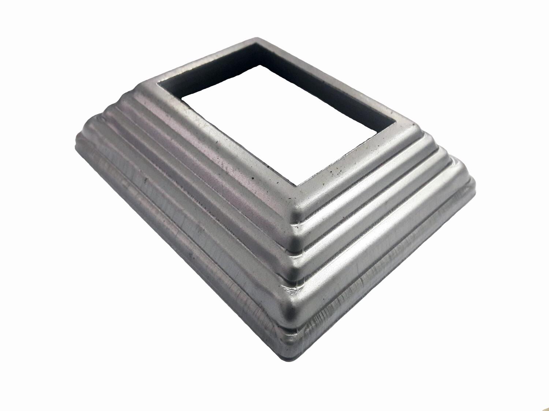 Основание штамп. 110*91*1 мм отв. 60*40 мм