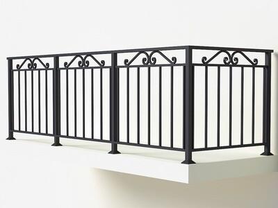 Балконное ограждение из металла арт. Г1815