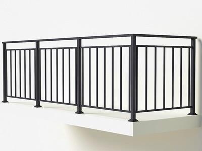 Балконное ограждение из металла арт. Г1819