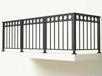 Балконное ограждение из металла арт. Г1821