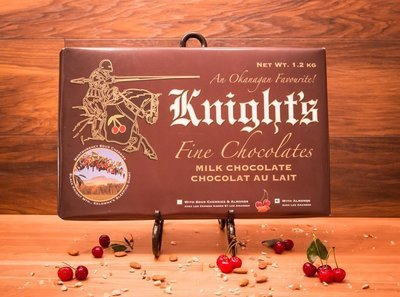 10 Knight's Chocolate 1.2 kg Milk with Cherries & Almonds