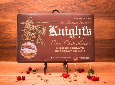 10 Knight's Chocolate 1.2 kg Milk with Cherries & Almonds