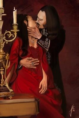 Dracula Gary Oldman Winona Ryder Art Print