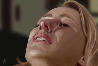 Mulholland Drive Naomi Watts Art Print
