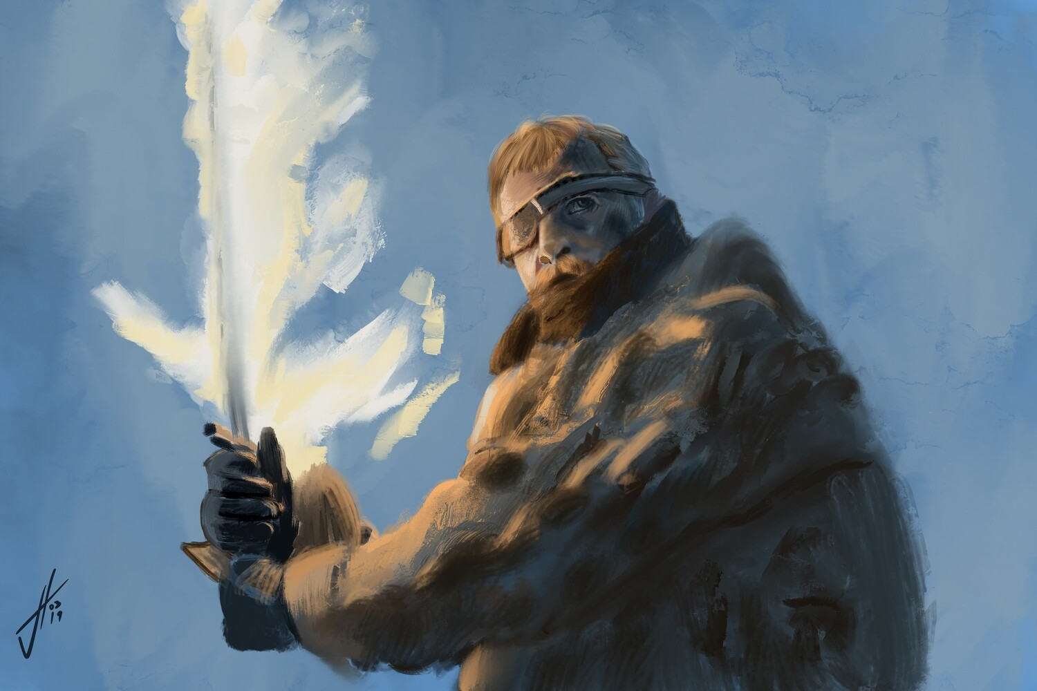 Game of Thrones Beric Dondarrion Art Print