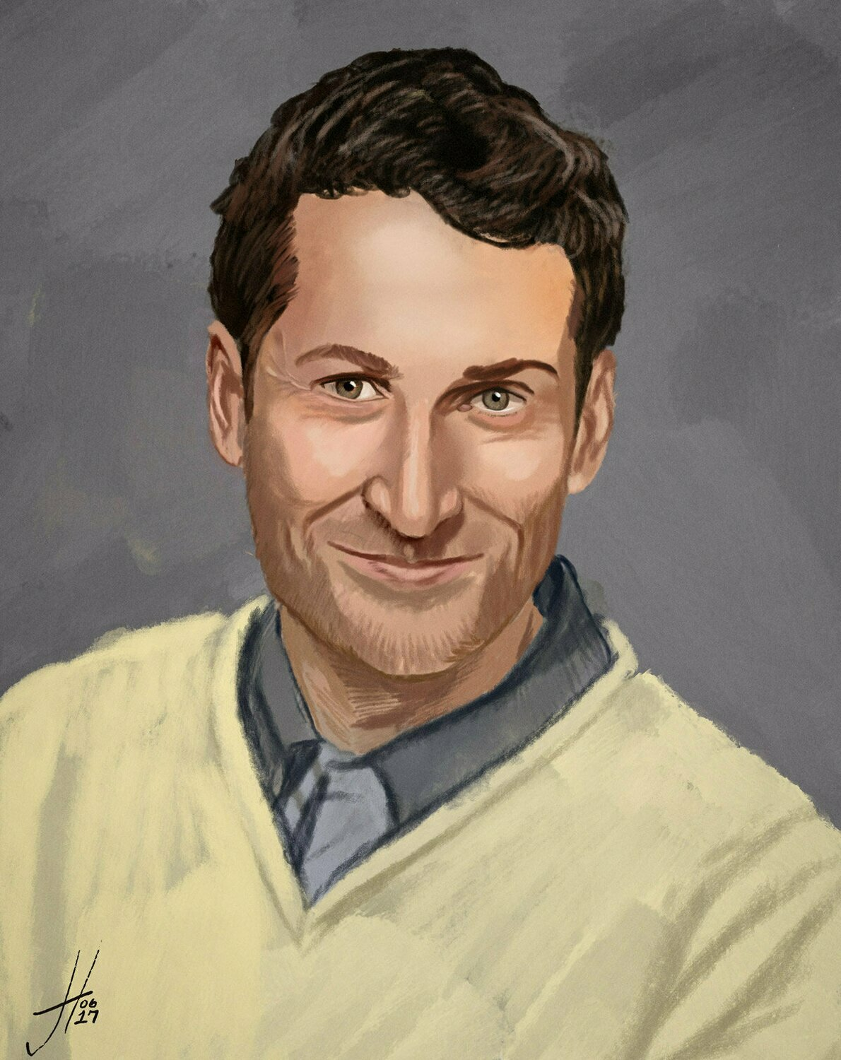 Comedy Bang Bang Scott Aukerman art print