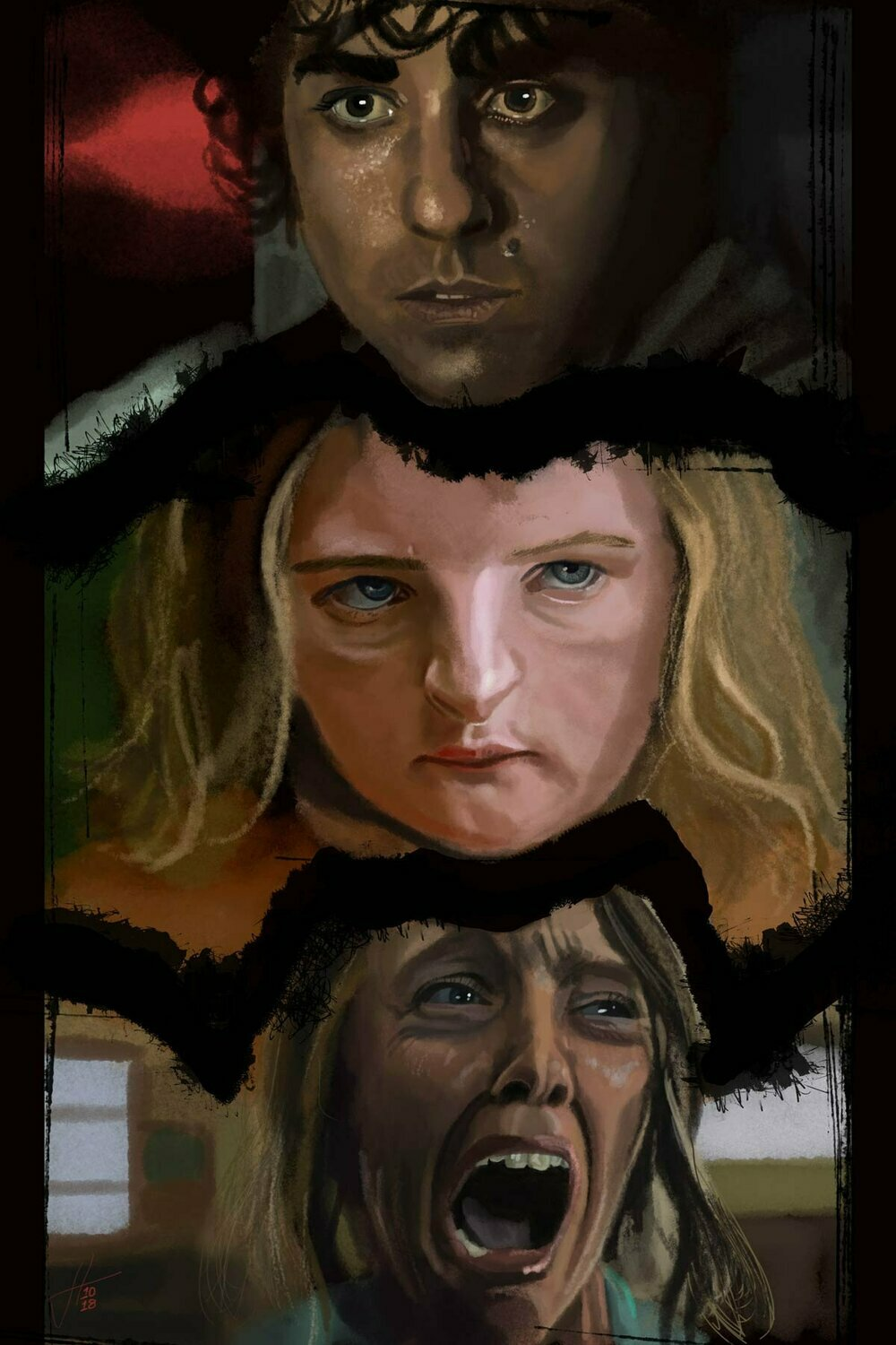 Hereditary movie art print