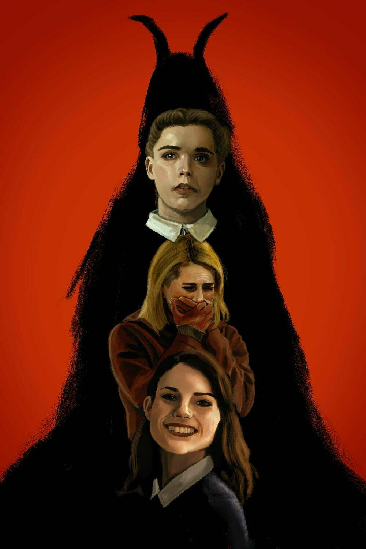 The Blackcoat's Daughter art print poster