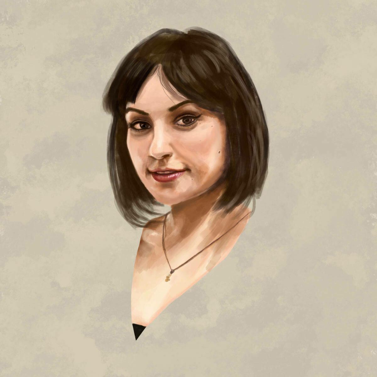 Sasha Grey Art Print