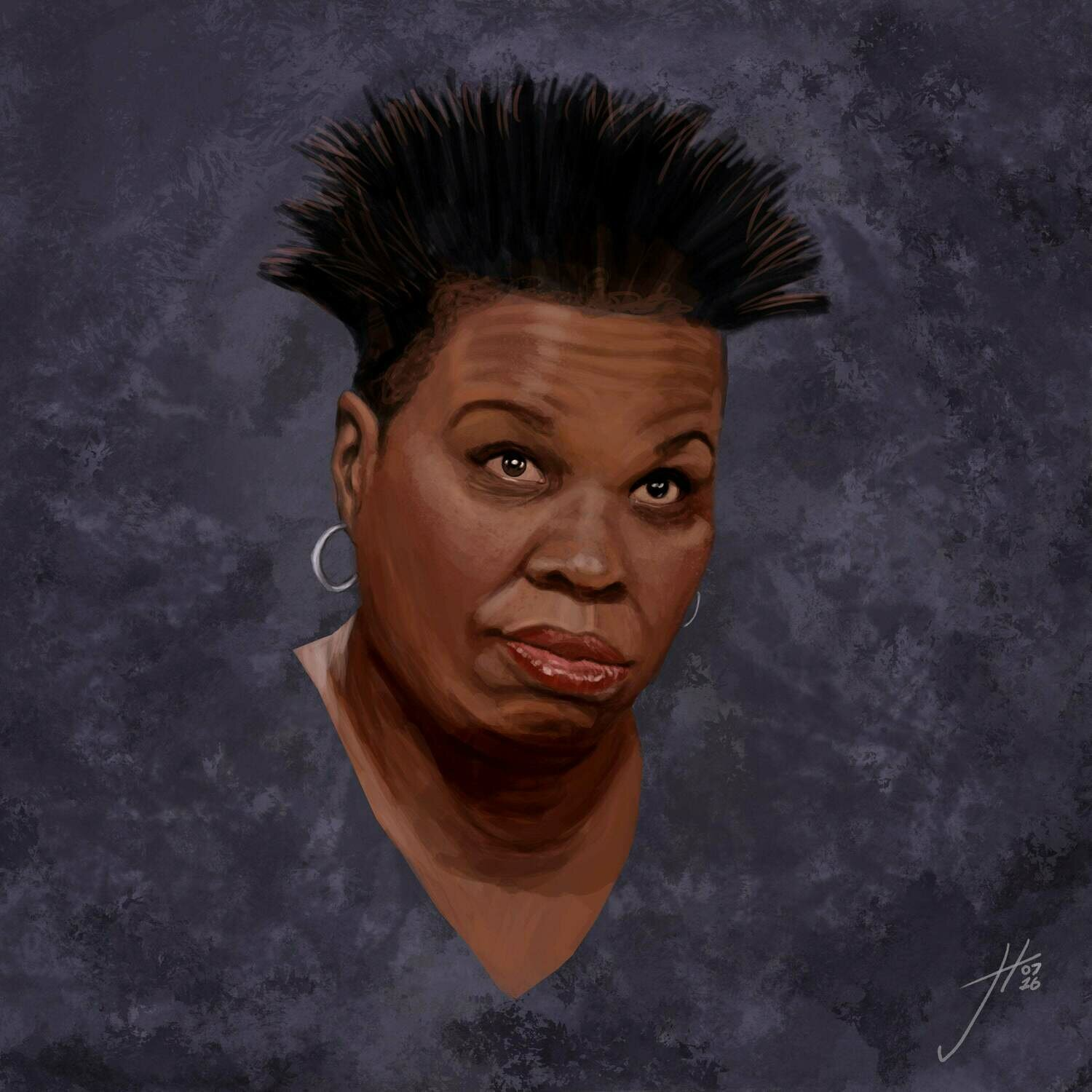 Leslie Jones art print