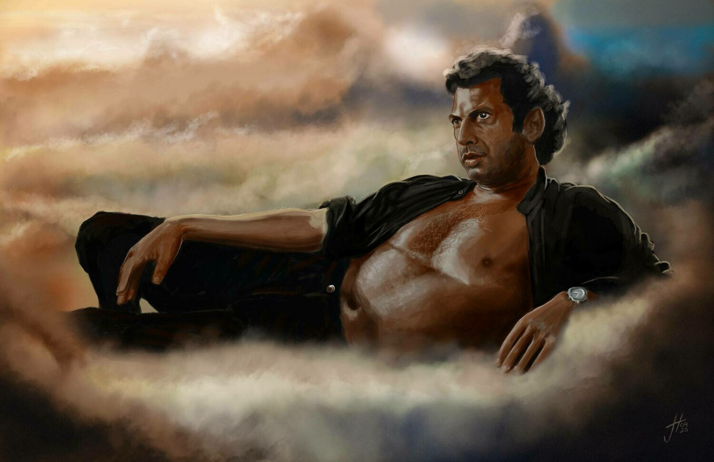 The Chaotician Jeff Goldblum Jurassic Park Art Print