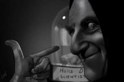 Young Frankenstein Art Print Marty Feldman