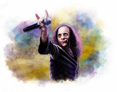 Ronnie James Dio Print
