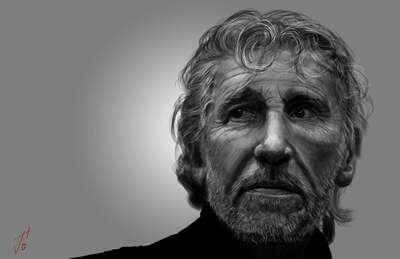 Roger Waters Art Print