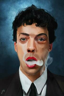 Tim Curry Art Print