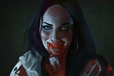 Jennifer's Body Megan Fox Art Print