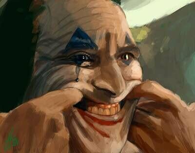 The Joker movie Art Print Joaquin Phoenix