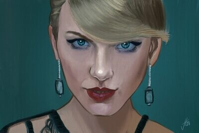 Taylor Swift Portrait Art Print