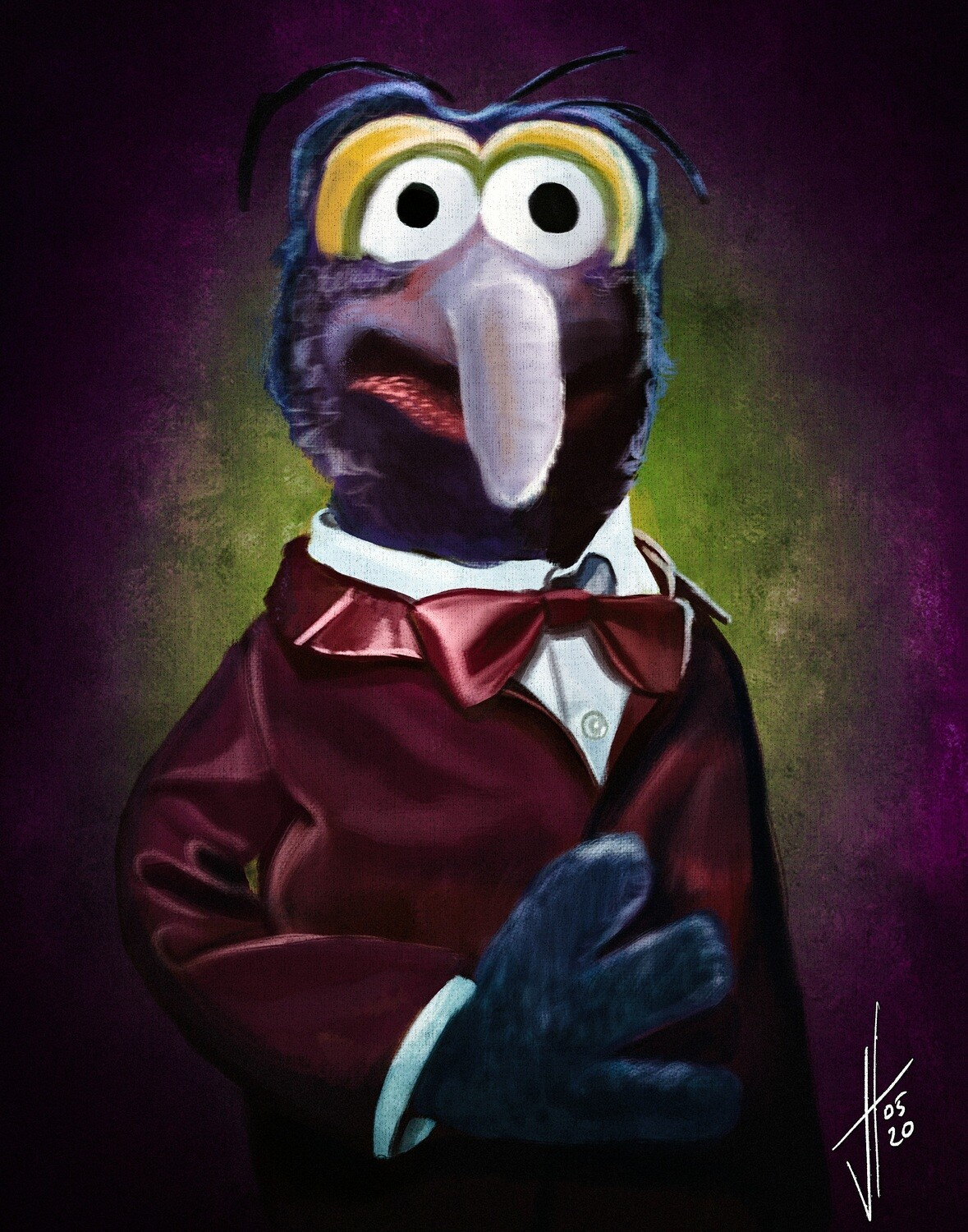 Gonzo the Great Muppet art print