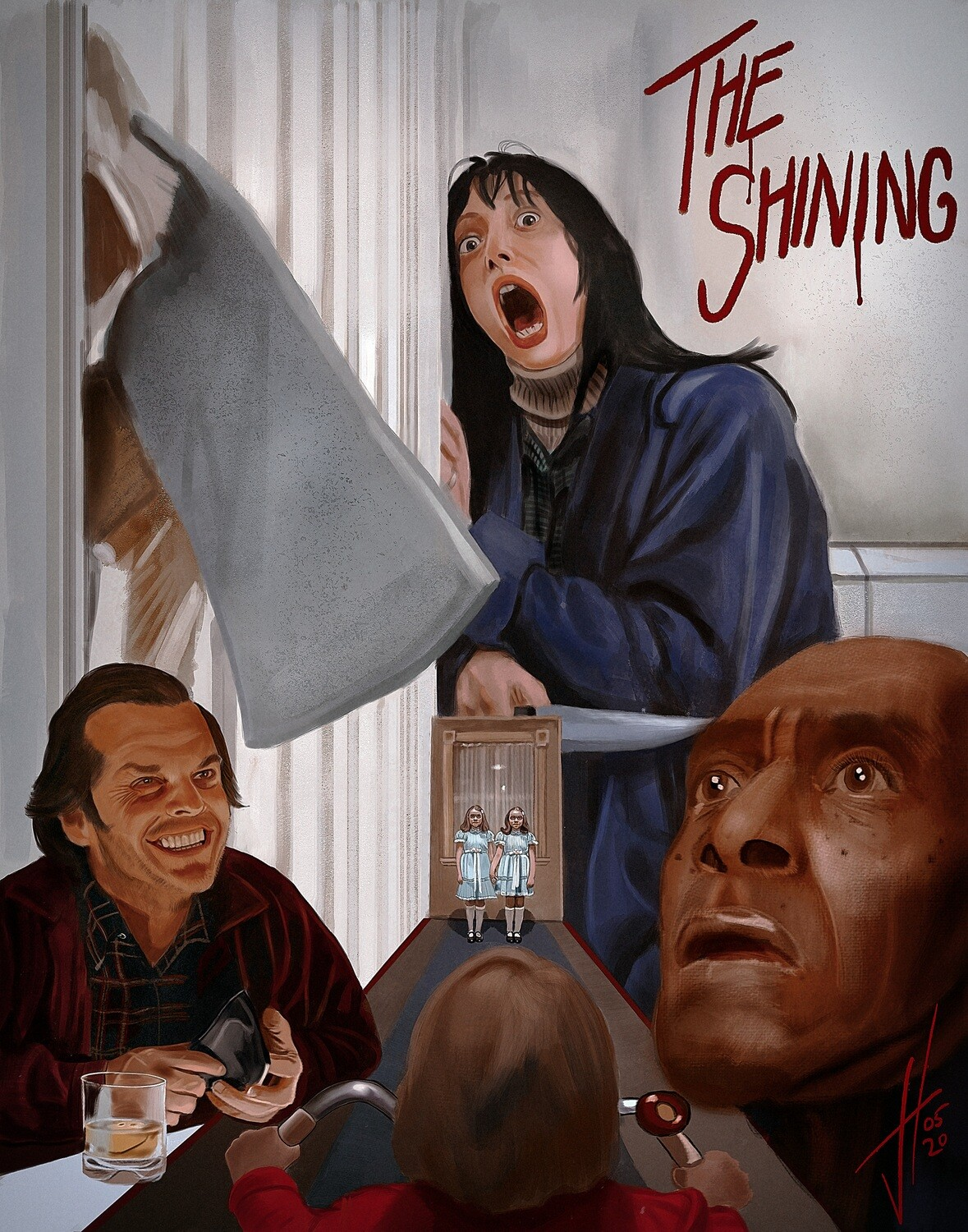 The Shining poster Print