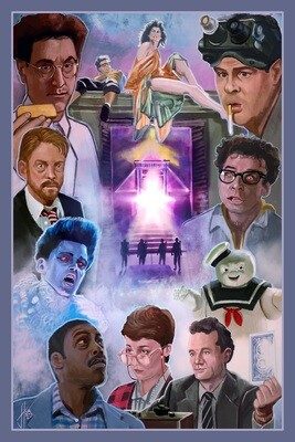 Ghostbusters poster Print