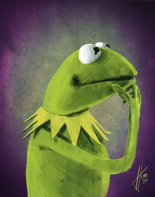 Kermit the Frog art print