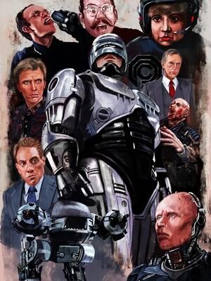 Robocop poster Print