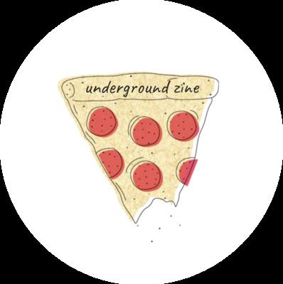 Underground Zine Sticker